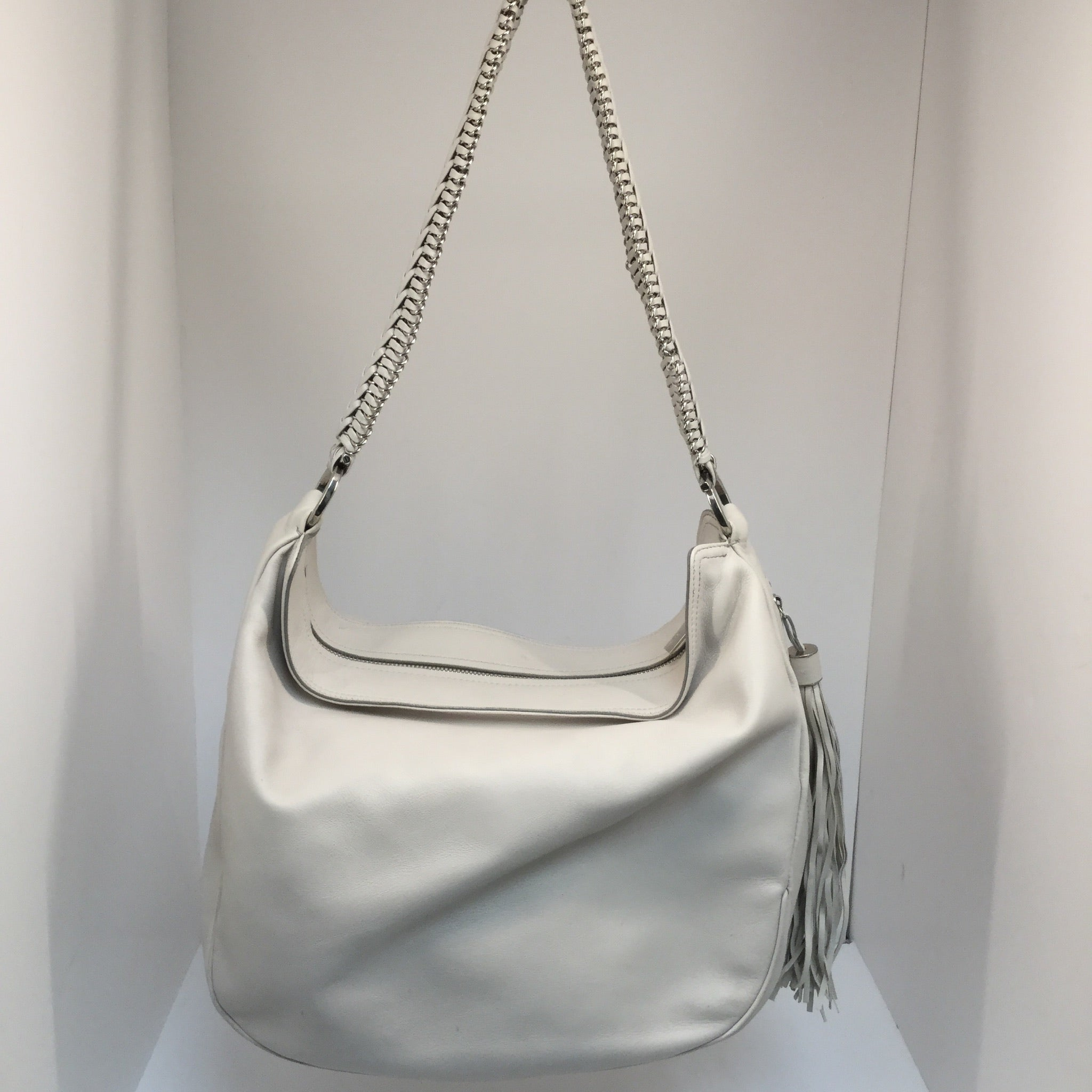 Salvatore Ferragamo Mel Braided-Strap Hobo Bag