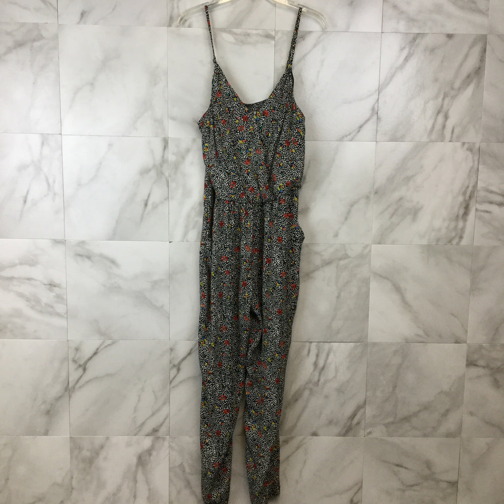 Anthropologie Elevenses Peonia Jumpsuit - size L