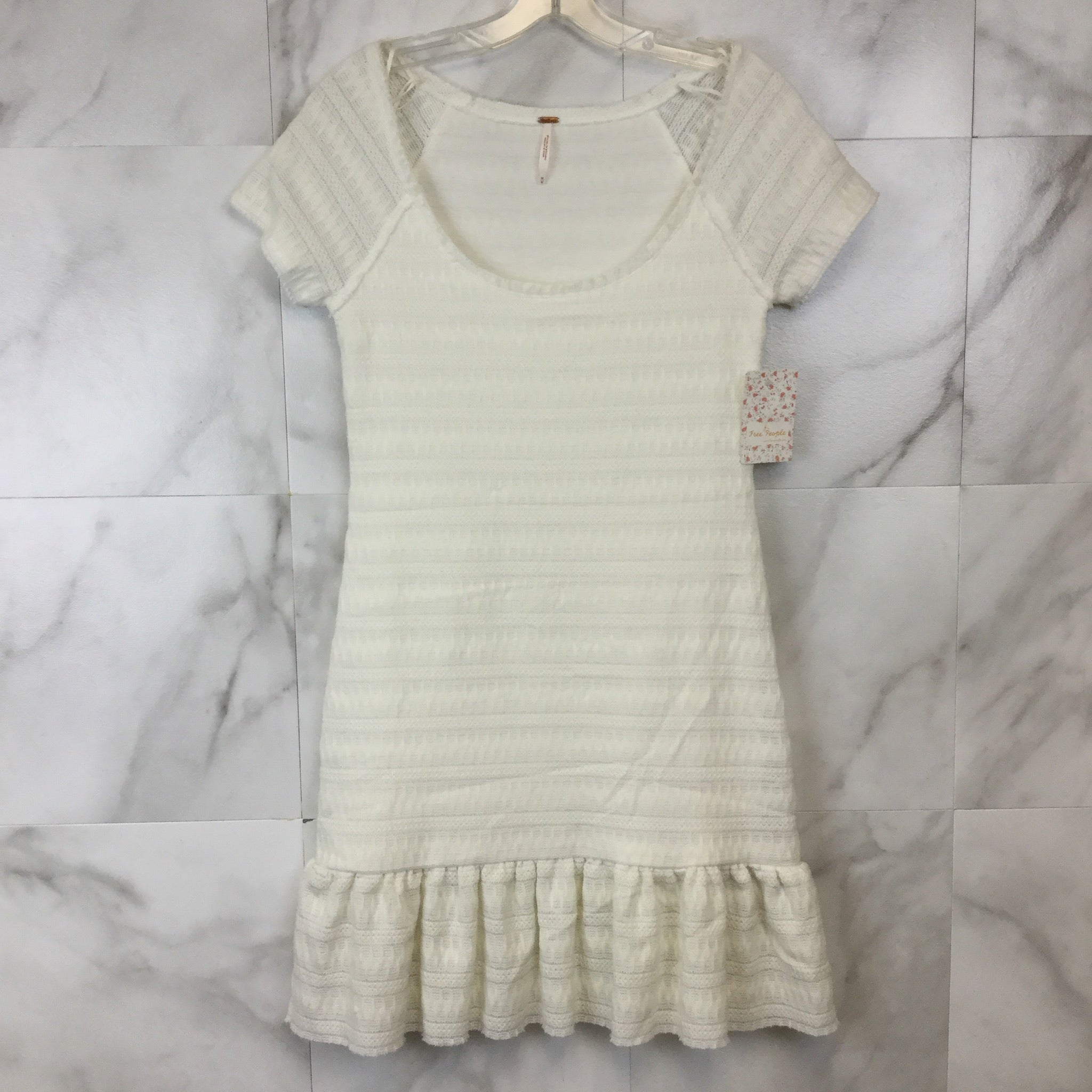Free People Cozy Day Flounce Dress - size M