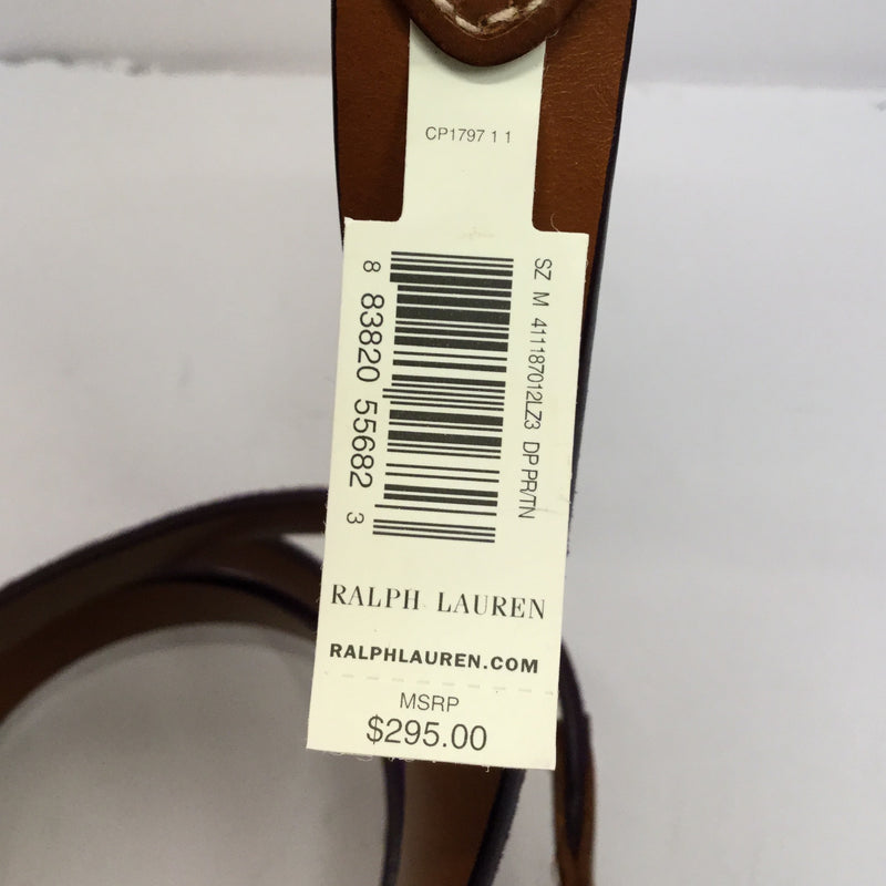 Ralph Lauren Purple Suede Belt - size M