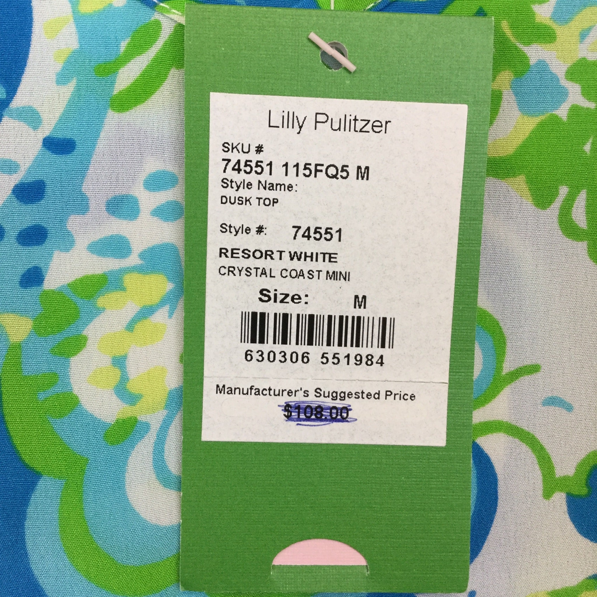 Lilly Pulitzer Dusk Top - M