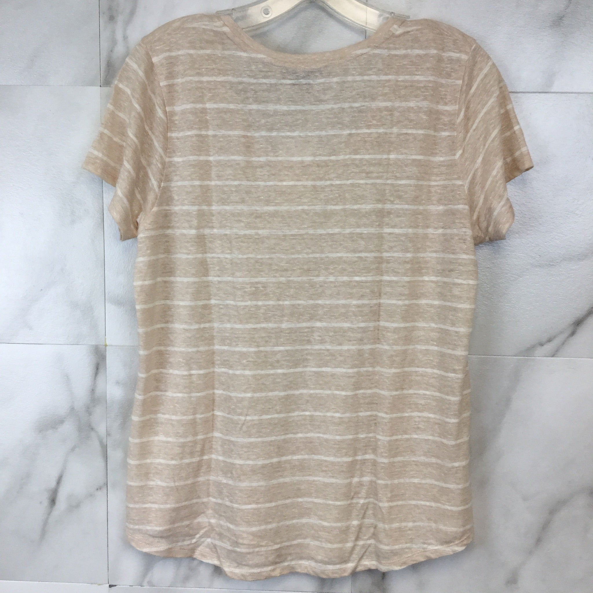 Vince Papyrus Striped Tee - M