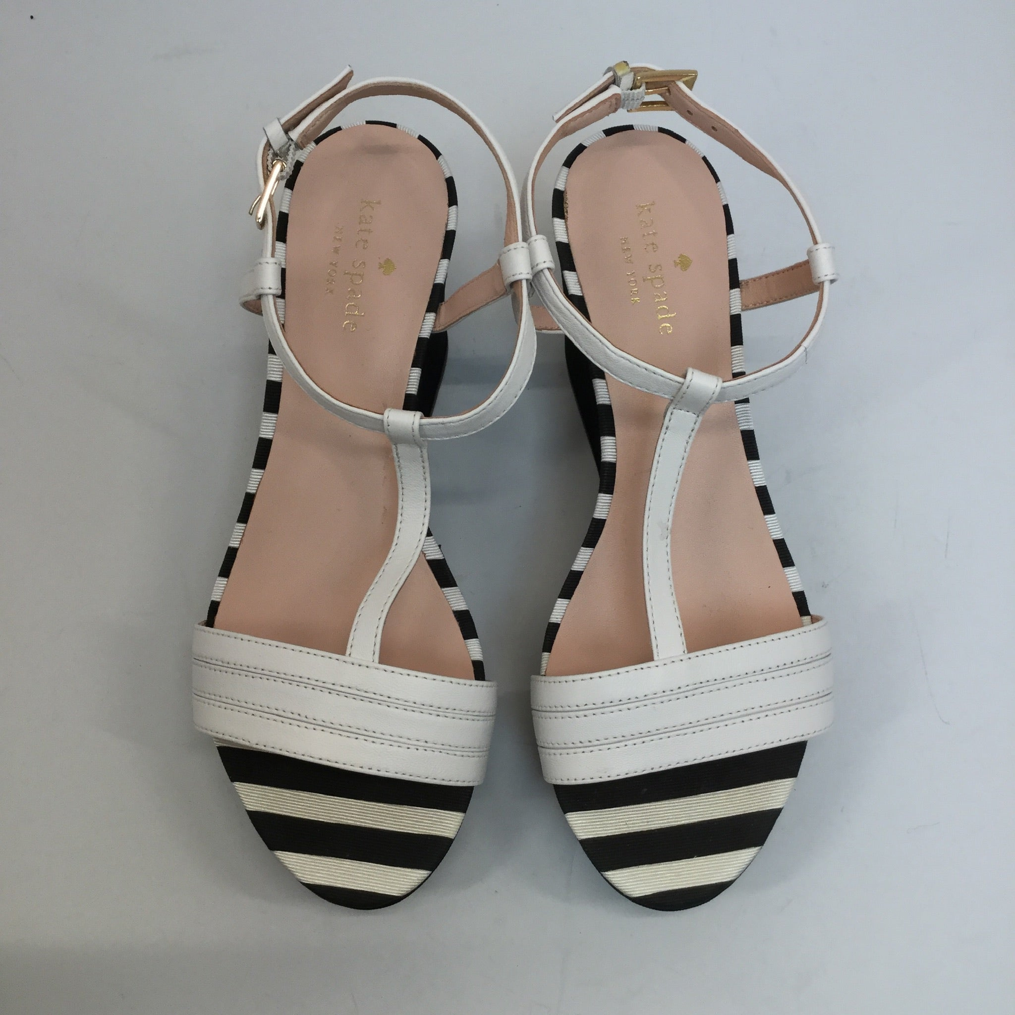Kate Spade Tallin Wedge Sandals - size 7.5