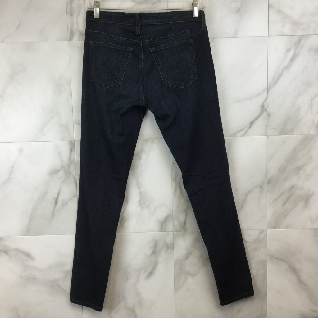 Adriano Goldschmied The Legging Ankle Jeans in Coal Gray- size 28