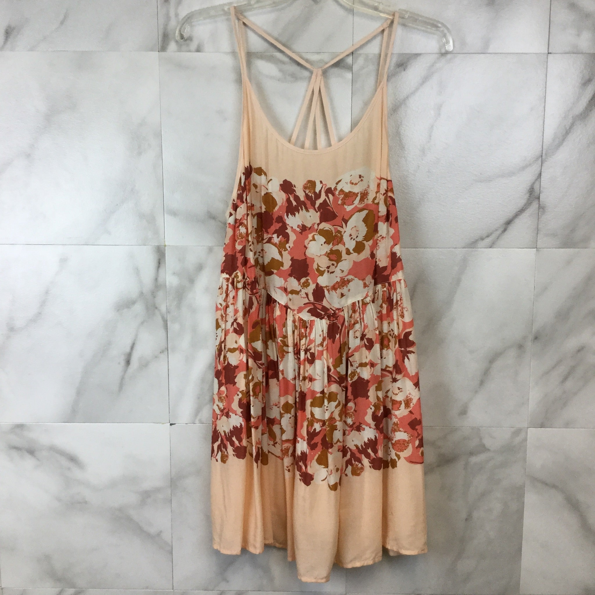 Free People Intimately Floral Voile Shortie Dress - M