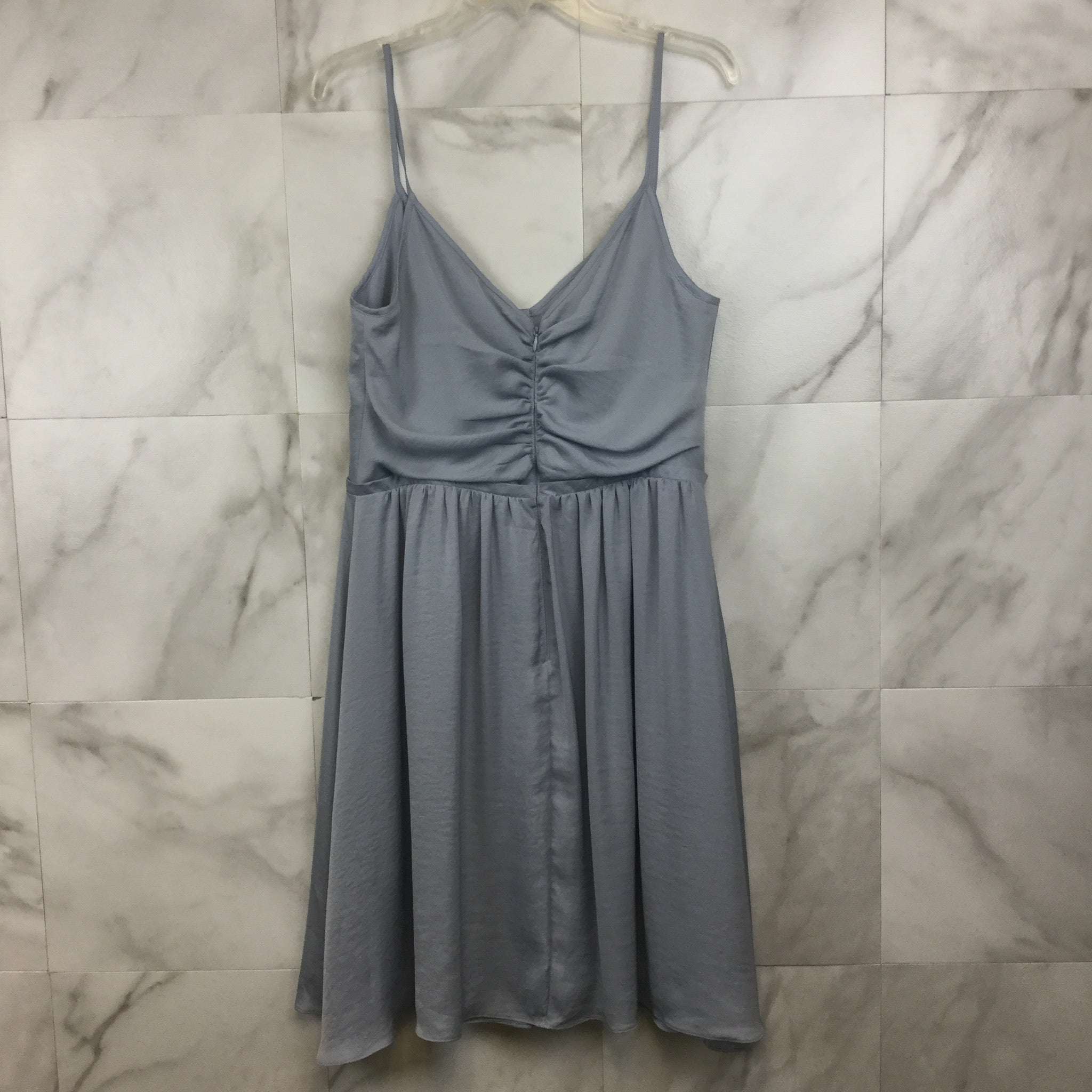 Banana Republic Blue Shirred Dress- size 14