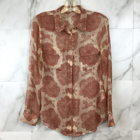 Anthropologie HD in Paris Walina Lace Top- size S
