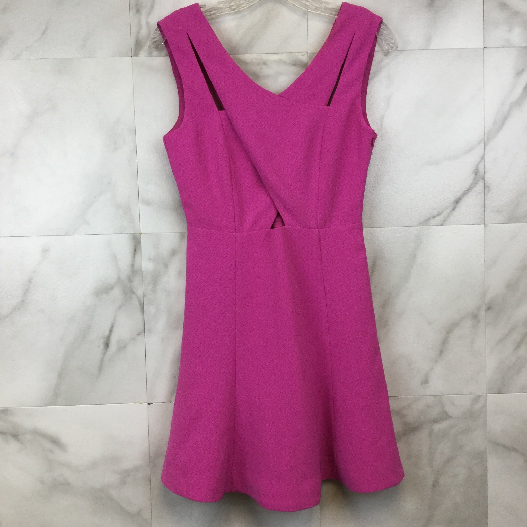 J.O.A. Fit and Flare Pink Dress- size S
