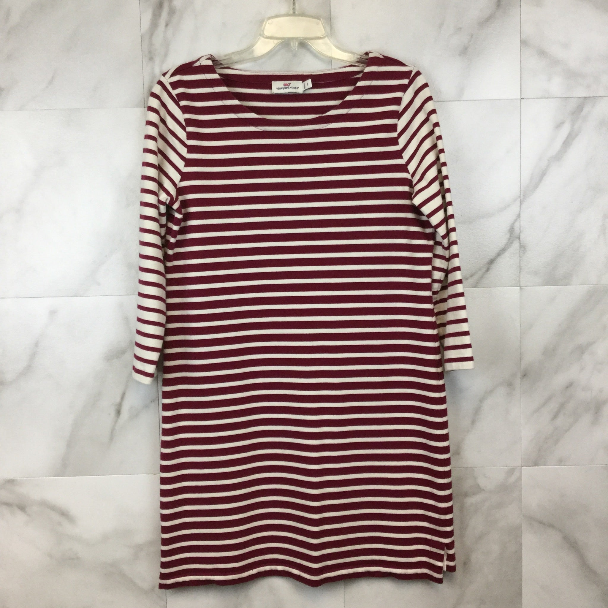 Vineyard Vines Mixed Stripe Knit Dress- size S