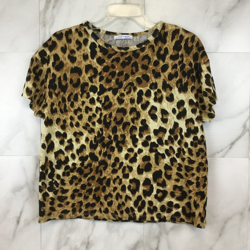 Zara Animal Print T-shirt - size S
