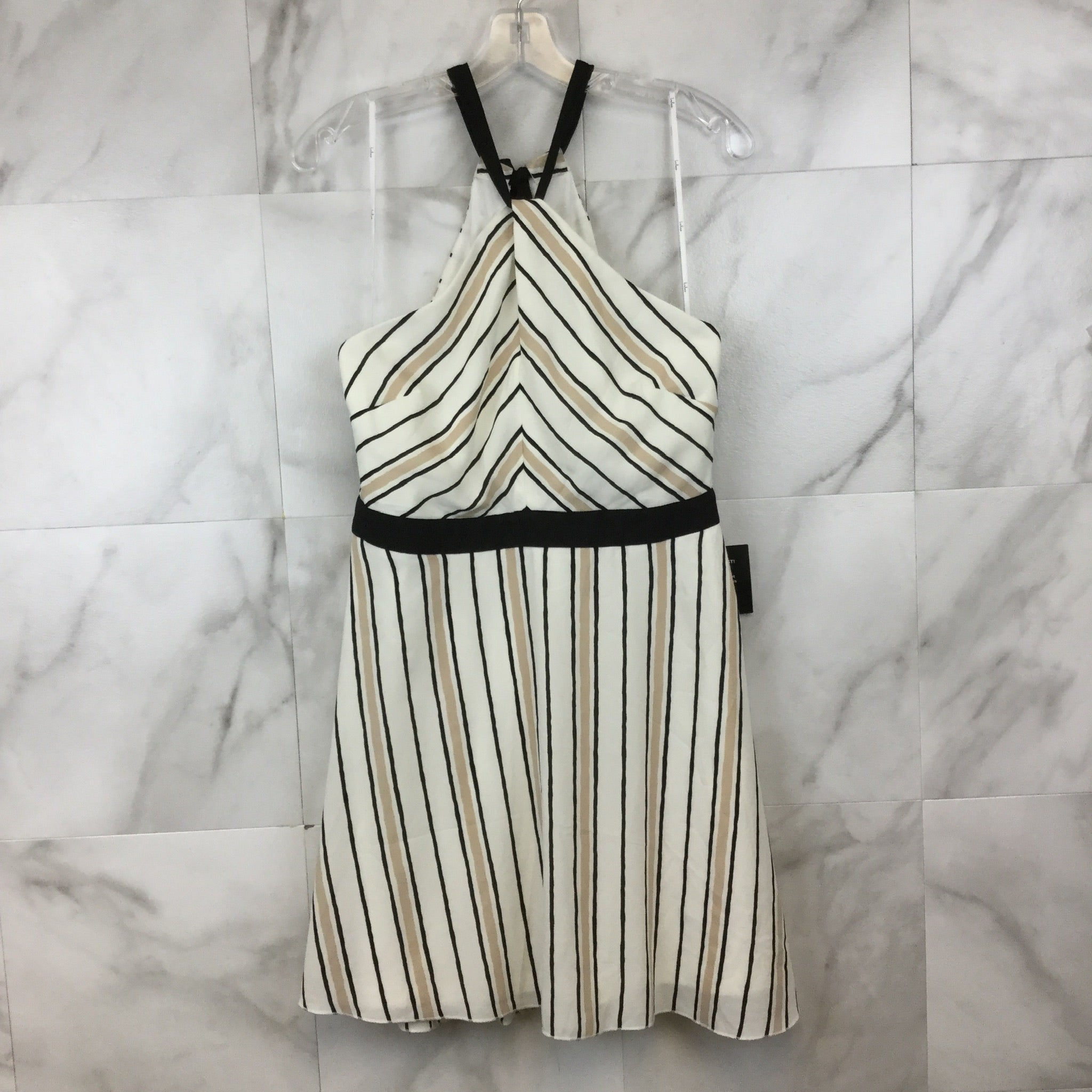 Lulu's Spontaneous Trip Halter Dress- size 14