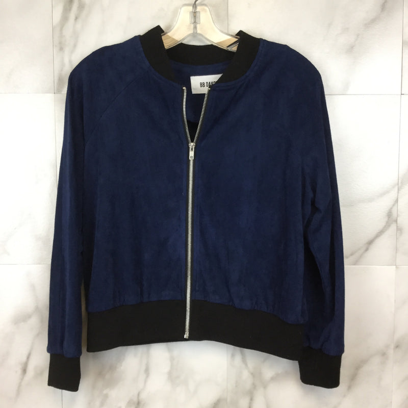 BB Dakota Ellie Faux Suede Bomber Jacket - size M