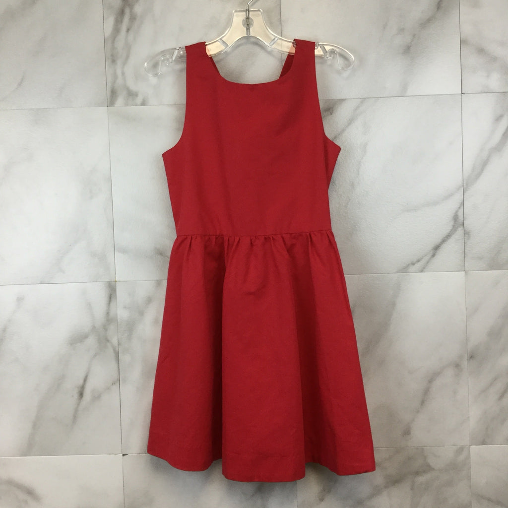Girl's Kate Spade Skirt the Rules Red Dress with Bow- size 8