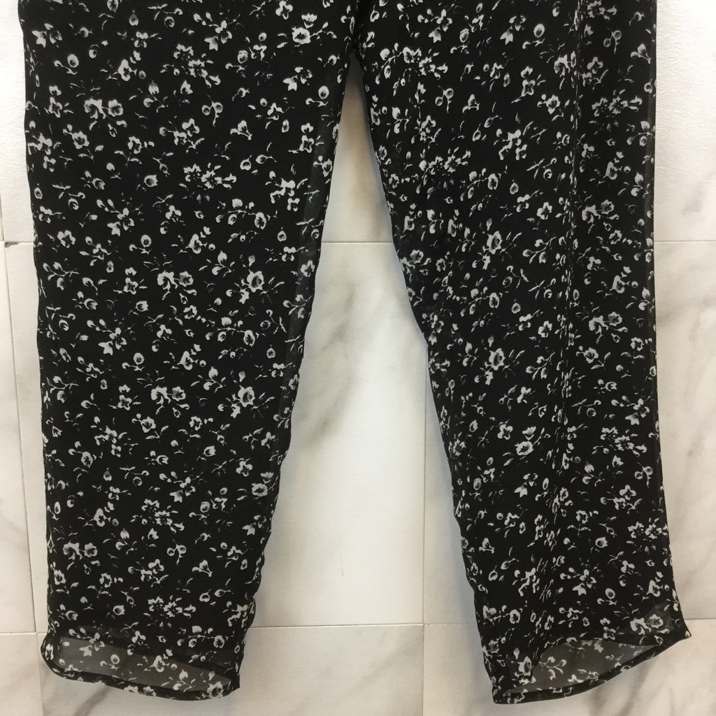 Joie Floral Print Stretch Pants- size L
