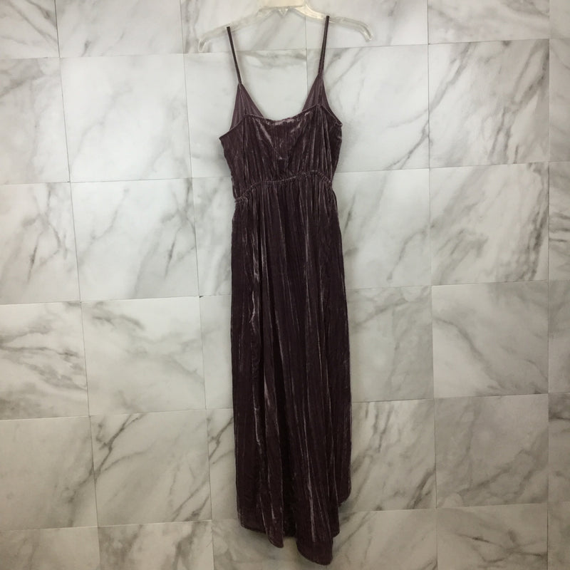 Lucky Brand Velvet Wrap Dress- size XS