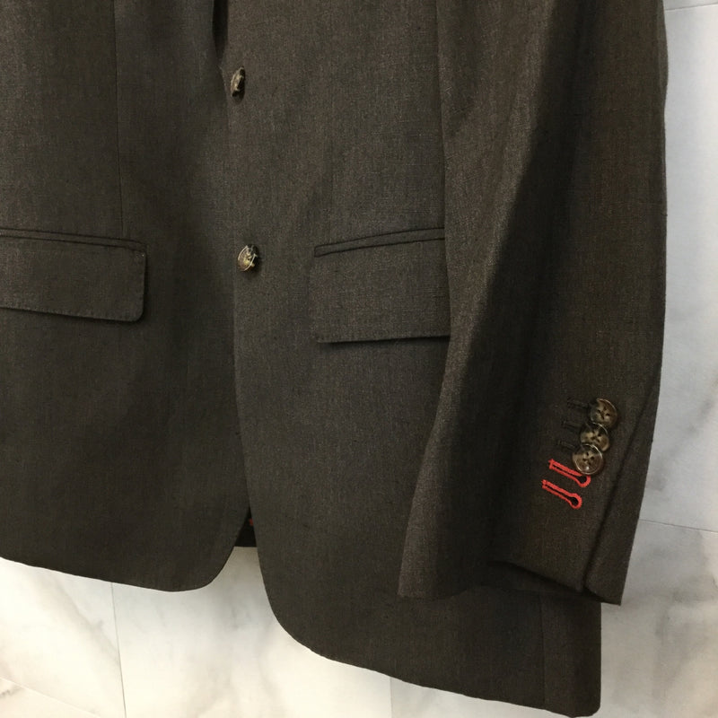 Mens Sam Surin Brown Suit Set- size 38R