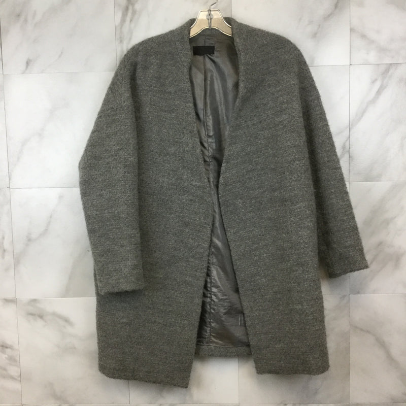 Nili Lotan Grey Wool Blend Coat- Size M
