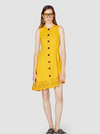 Derek Lam 10 Crosby Sleeveless Button Down Dress - size 4