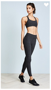 Beyond Yoga Cross It Back Midi Leggings - XS