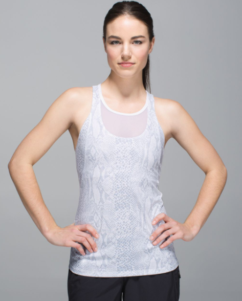 Lululemon Mesh with Me Tank - Size S