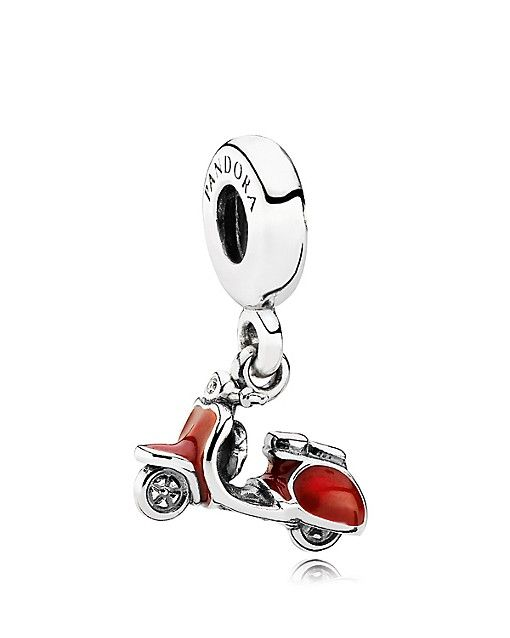 Pandora Red Scooter Dangle Charm