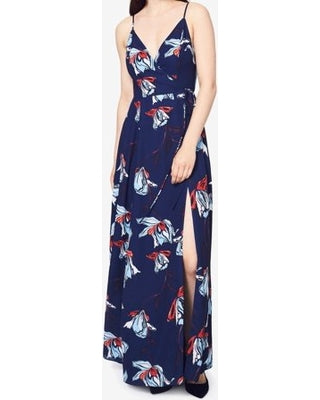 Fame and Partners The Anemone Wrap Maxi Dress - size 0