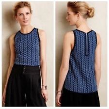 Anthropologie 9-H15 STCL Textured Swing Tank - Size S