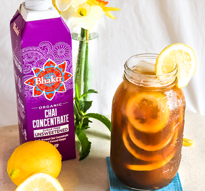 Bhakti Lemon Ginger Iced Tea