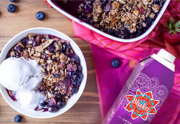 Spiced Berry Crisp