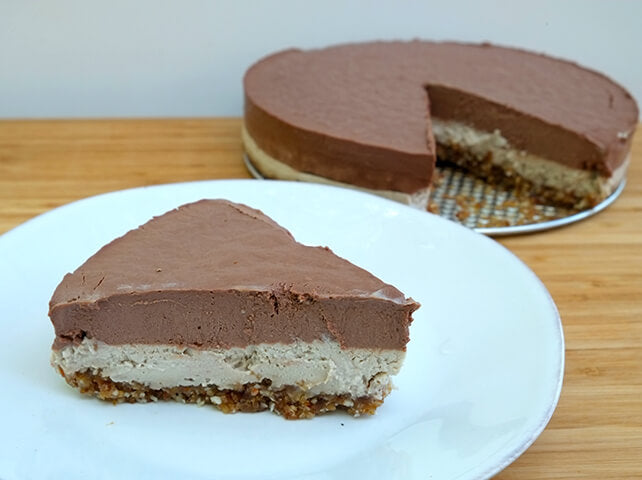 Vegan Chai Cheesecake