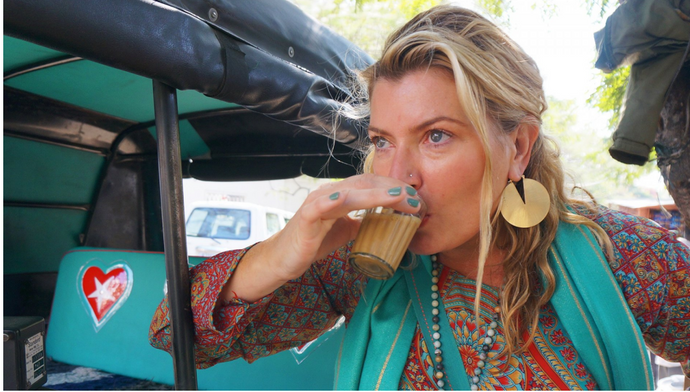 On a Whim, This Hippie Founder Packed Her Bags for India. Now, She's Made $35 Million Selling Chai Tea