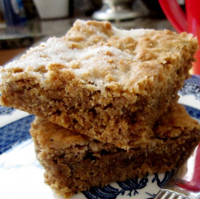 Bhakti Gingerbread Bars