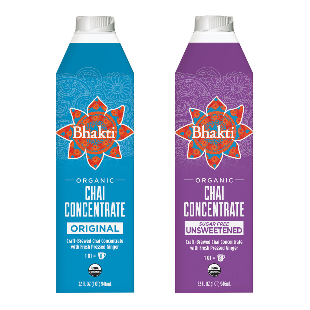 Spicy Chai Concentrate 2-Pack - Bhakti