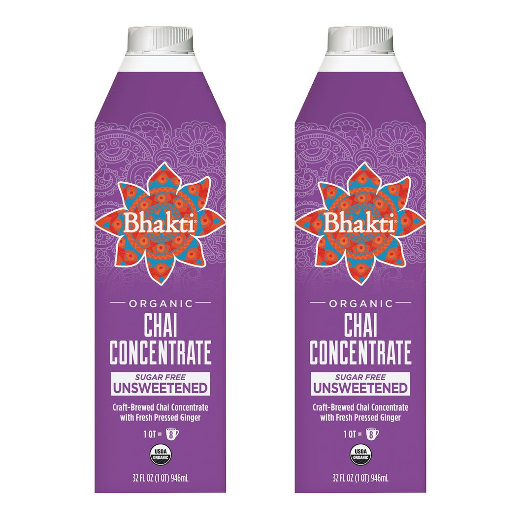 Spicy Chai Tea Concentrate 2-Pack - Bhakti