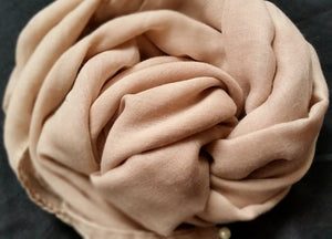 Brilliant Beige Pearl Scarf - iHijabStore I hijab shawl, hijab dress, hijab scarf, hijab accessories