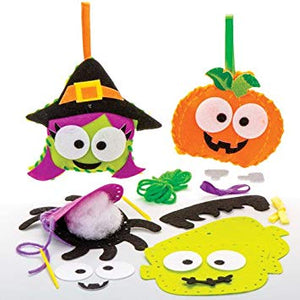 Halloween friends children's sewing craft kit.