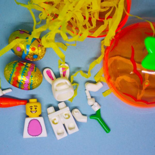 Easter bunny man children's craft kit.
