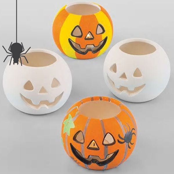 Halloween Ceramic Tea Light