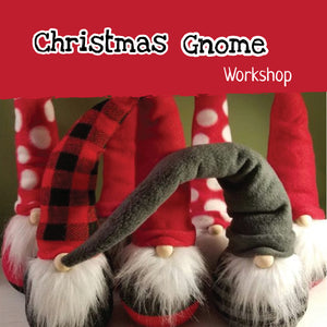 Christmas sock gnome Children's Craft Workshop - Sat 1st Dec