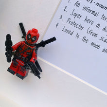 Lego Figure or Action Hero Print Craft Kit