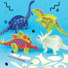 3D Dino children's craft kit