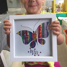 Childrens craft kits - Butterfly Wool art