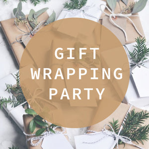 Christmas Gift Wrapping Party  - Fri 14th Dec
