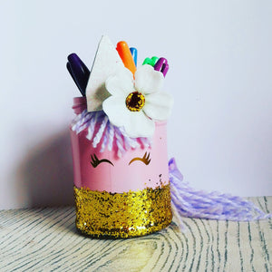Unicorn pen pot workshop - Sat 27th April