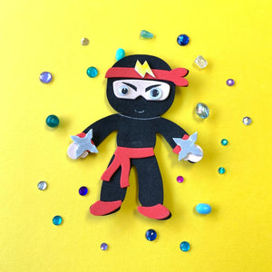 Ninja Magnet Craft Kit