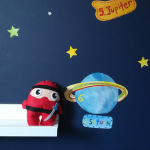 Ninja Cushion Children's Sewing Kit