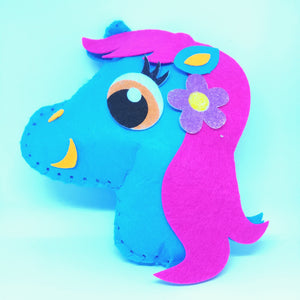 Pony Cushion Children's Sewing Kit