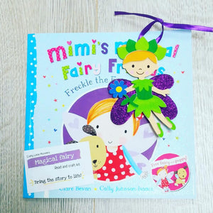 fairy read and craft kit