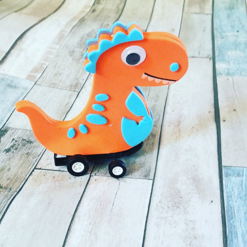 children's Craft Kits Dino racers