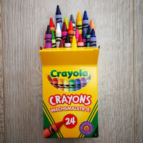Crayola Coloured Crayons 24pk